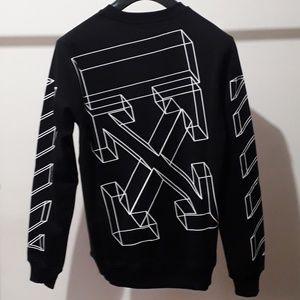 Off-White Men Arrow Sweatshirt